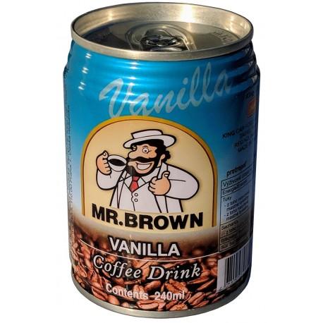 Mr. Brown Vanilla Coffee Drink 24x240ml