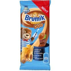 Jemné pečivo s čoko+oříškem DUO - Brumík 30g