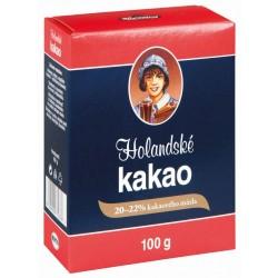 Holandské kakao 20-22% kakaového masla Kávoviny 100g