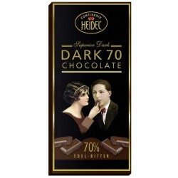 Hořká čokoláda 70% kakaa Heidel 30g