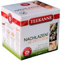 Léčivý čaj nachlazení se zázvorem Teekanne 10 sáčků á 2g / 1x20g