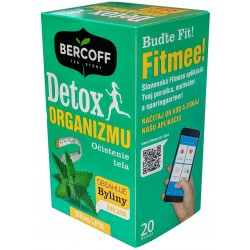 Detox organismu bylinný čaj Bercoff 1x(20x2,0g)40g