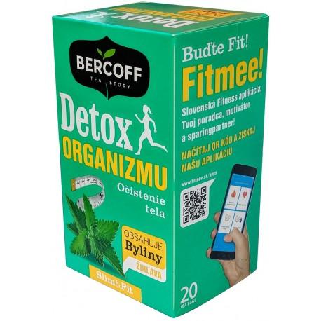 Detox organismu bylinný čaj Bercoff 20x1,5g
