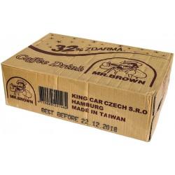 Černá káva s mlékem v plechovce + 32% zdarma - MR. Brown 24x330 ml