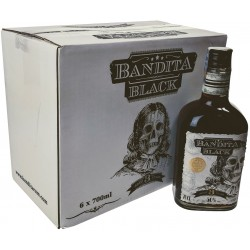 Bandita Black rum 50% 6x700ml