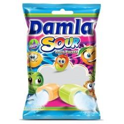 Žvýkací bonbóny s ovocnou práškovou náplní - Tayas 90 g