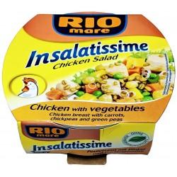 Hotový pokrm ze zeleniny a kuřecího masa se špaldou Insalatissime - Rio Mare 160g