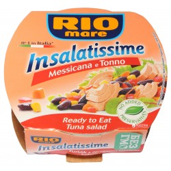 Hotový pokrm Mexický s tuňákem Insalatissime - Rio Mare 160g