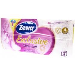 Toaletní papír 4-vrství 150 útržků - Zewa Ultra Soft 1x8ks