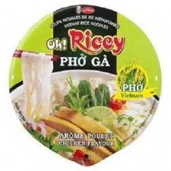 Instantní rýžová polévka s kuřecí příchutí - OH! RICEY 70g
