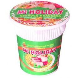 Instantní polévka v kelímku Vepřová - MI HOLIDAY 60g