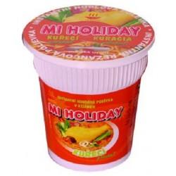 Instantní polévka v kelímku Kuřecí - MI HOLIDAY 60g