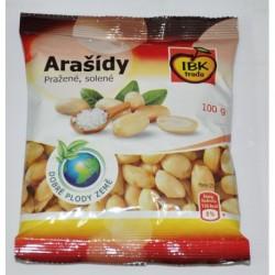 Arašídy loupané pražené solené - IBK trade 100 g