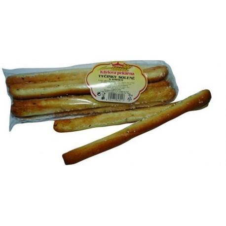 Tyčinky solené s kmínem - Karlova pekárna 80g
