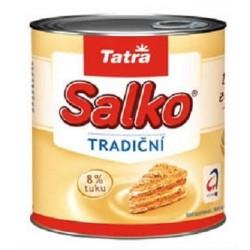 Zahuštěné slazené mléko plnotučné Salko tradiční Tatra 8% tuku 1x397g