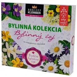 Kolekce vybraných směsí bylinných čajů Bercoff klember Herbal 1x1 ks