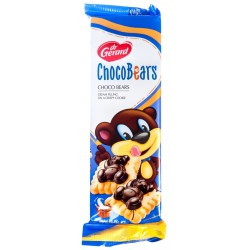 Sušenky s hořkou čokoládou - Dr. Gerard Chocobears 116g