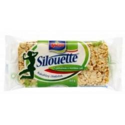 Kukuřičný chlebíček s pohankou a mořskou solí - Racio Silouette 60g
