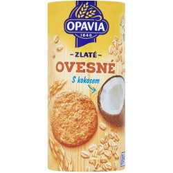 Zlaté ovesné kokosové sušenky - Opavia 215g