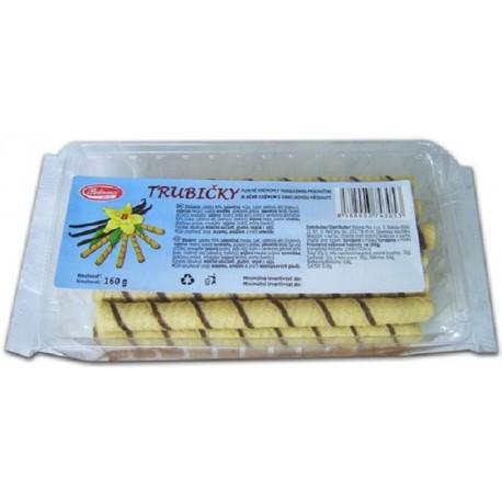 Plněné trubičky s vanilkovou příchutí - Paloma 160g