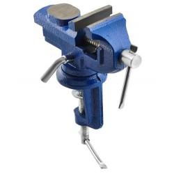 Otočný ocelový svěrák, čelisti 5 cm - P5620