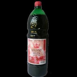 Královský hrozen červené víno 1x2L PET