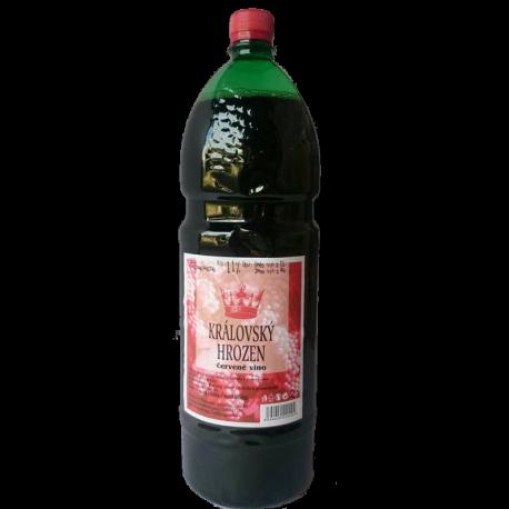 Královský hrozen červené víno 6x2L PET