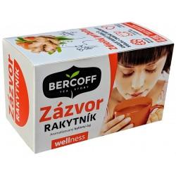 Bylinný čaj Zázvor & Rakytník Bercoff Klember 1x(20x2,0g)40g