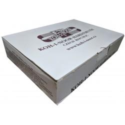 Školní plastelína, modelína, modelovací hmota mix 10 barev Koh-i-noor 15x200g
