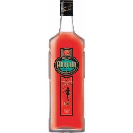 Absinth Granette & Starorežná Červený Ďábel 0,5 l