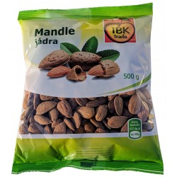 Mandle jádra IBK trade 1x500g