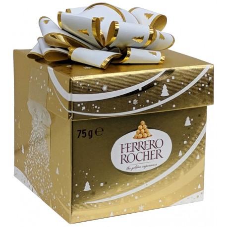 Ferrero Rocher dárkové balení kostka 1x75g