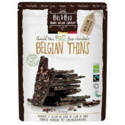 Bio lámaná hořká čokoláda 85% s kokosovým cukrem - BEL & BIO 120g