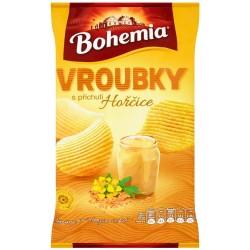 Vroubky s příchutí hořčice Bohemia 1x70g