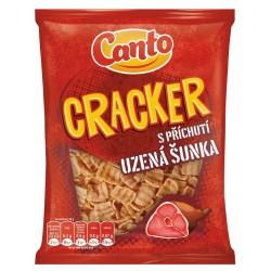 Cracker s příchutí uzená šunka Canto 1x140g