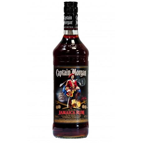 Captain Morgan Black spiced 40% 1x1000ml