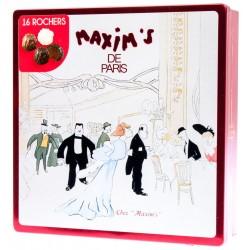 Bonboniéra speciální výběr 16 rochers pralinek - Maxim's de Paris 140g