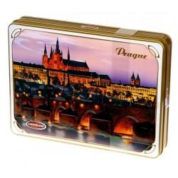Bonboniéra Praha Prague v plechové dóze 245g