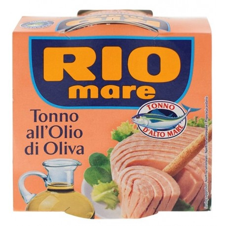 Tuňák v olivovém pleji Rio Mare 1x160g