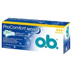 Menstruační tampony o.b.® ProComfort™ night normal 16 ks