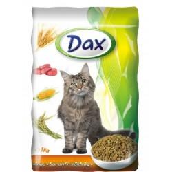 Kompletní krmivo pro dospělé kočky s drůbežím a zeleninou - DAX 1kg