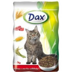 Kompletní krmivo pro dospělé kočky s hovězím a zeleninou - DAX 1kg