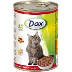 Kočičí konzerva s hovězím - Dax 415 g