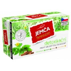 Detoxikační pravý zelený bylinný čaj - Jemča