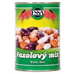 Fazolový mix sterilovaný v mírném nálevu - ESSA 400g