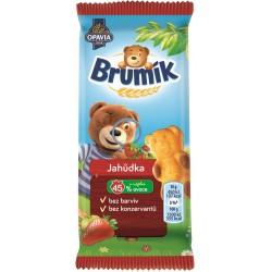Jemné pečivo jahůdka - Brumík 30g