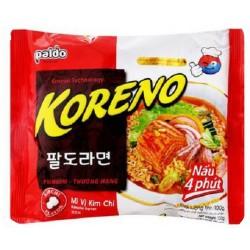 Instantní polévka s kimchi příchutí, s cukrem a sladidlem - Paldo KORENO 100 g