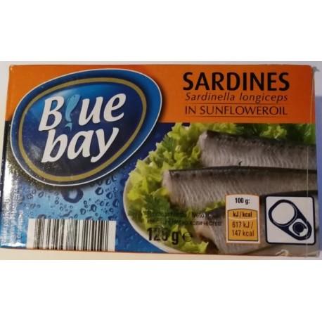 Sardinky ve slunečnicovém oleji - Blue bay 125g