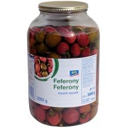 Feferony kulaté aro 1x3000g