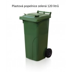 Popelnice 120 zelená